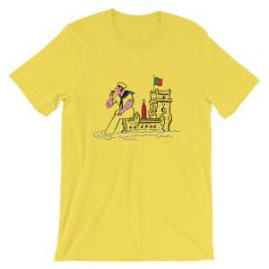 Belém Tower Sailor & Nata - Short-Sleeve Unisex T-Shirt