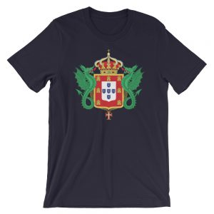 Portuguese Royal Coat of Arms - Short-Sleeve Unisex T-Shirt