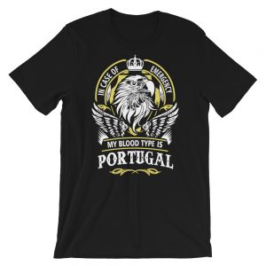 In Case Of Emergency Portugal - Short-Sleeve Unisex T-Shirt
