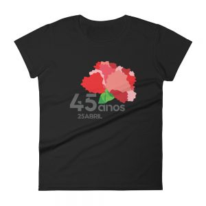 25 Abril - 45 Anos - Women's Short Sleeve T-Shirt