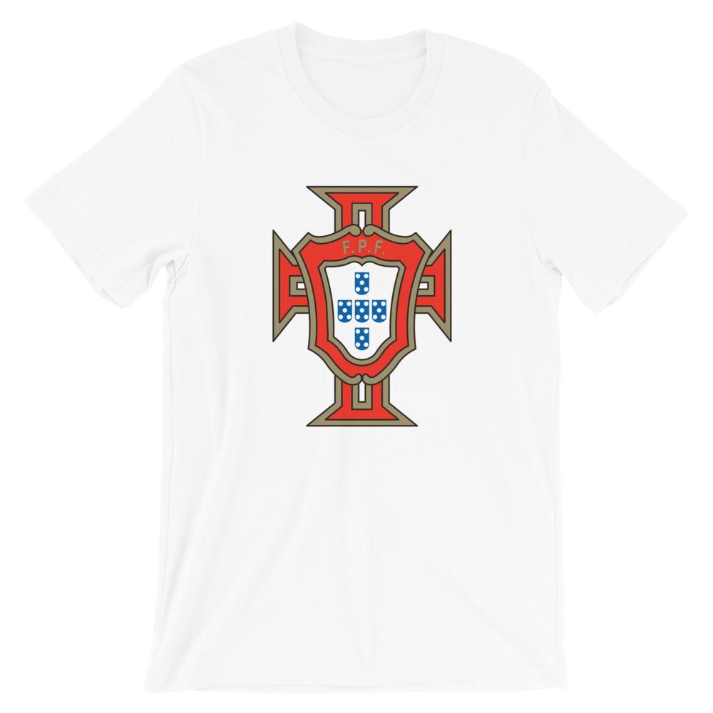 7ecc6df254c5 FPF - Federação Portuguesa de Futebol - Short-Sleeve Unisex T-Shirt ...