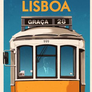 Vintage Lisbon Tram