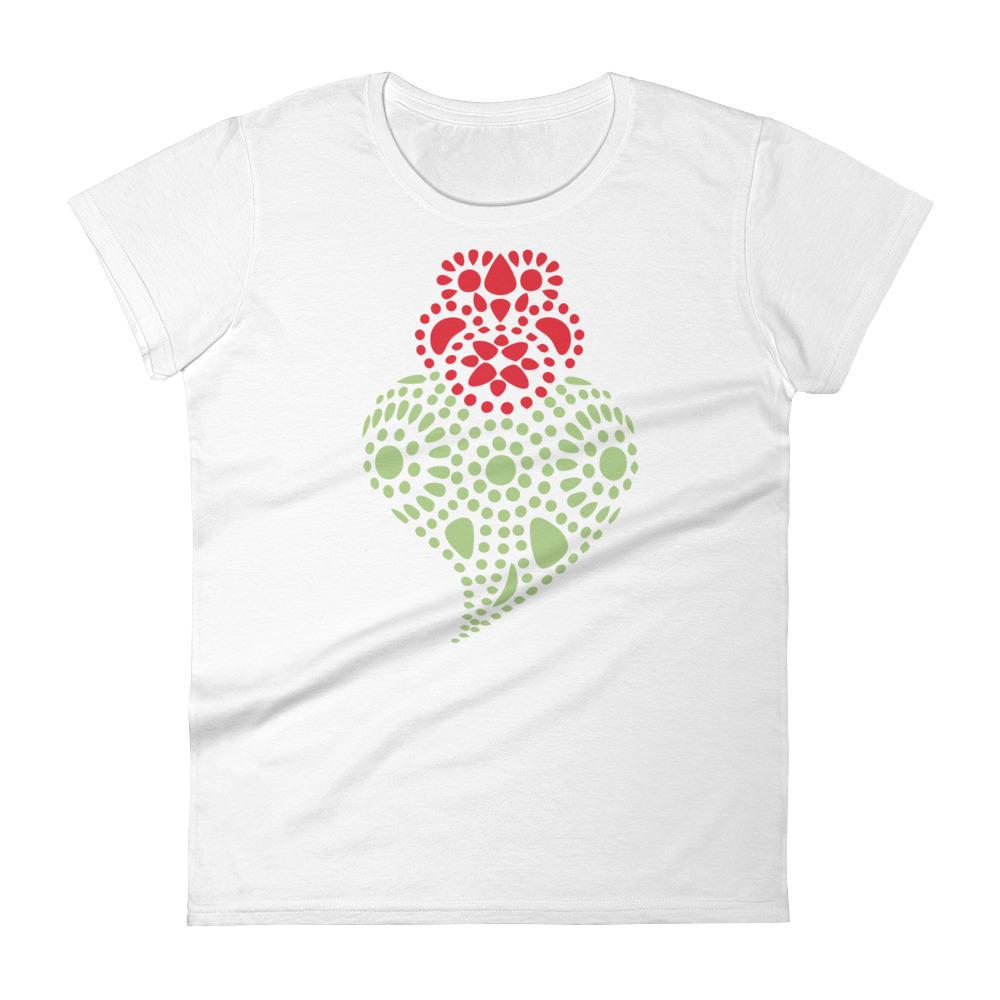 Portuguese Heart - Women's Short Sleeve T-Shirt
