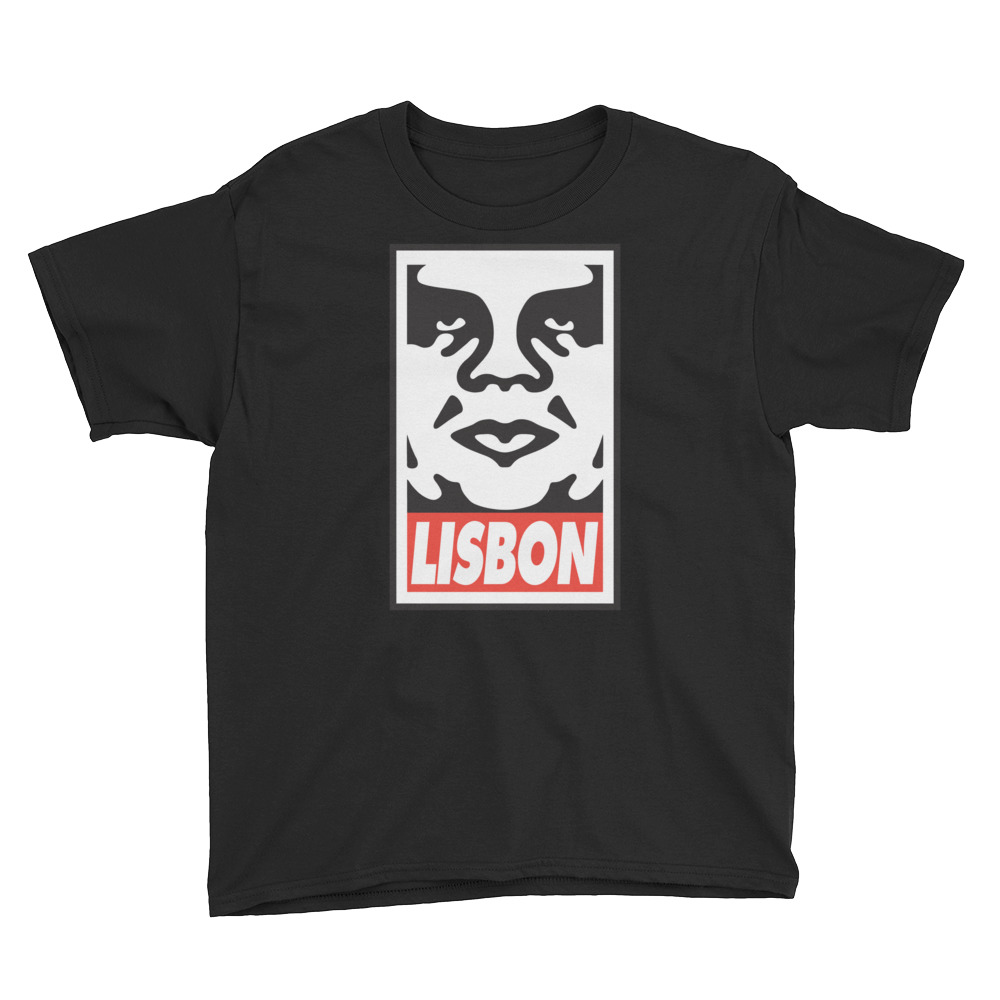 Obey Lisbon - Youth Short Sleeve T-Shirt