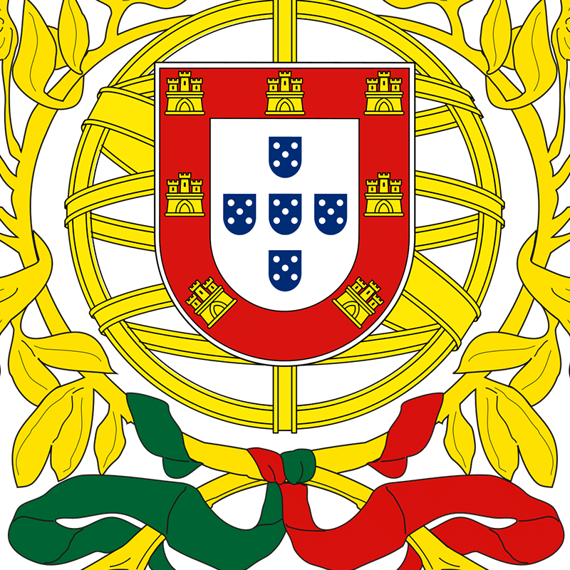 Portugal Coat Of Arms - Champion Hoodie