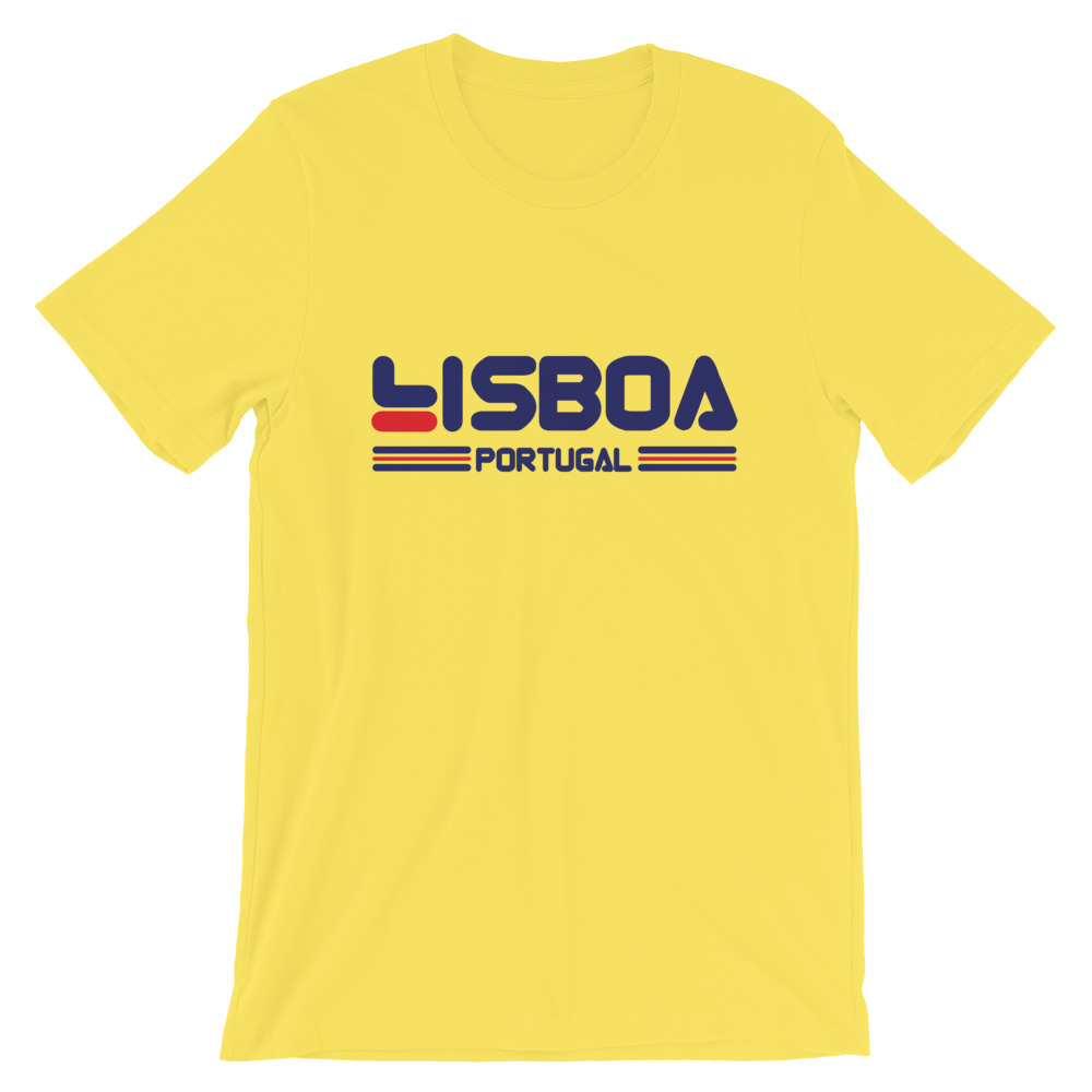 Fila VS Lisboa Portugal - Short-Sleeve Unisex T-Shirt