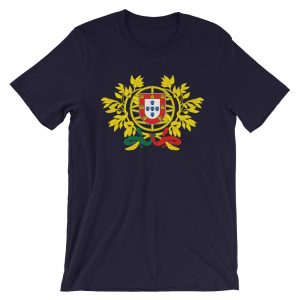 Portugal Coat Of Arms - Short-Sleeve Unisex T-Shirt