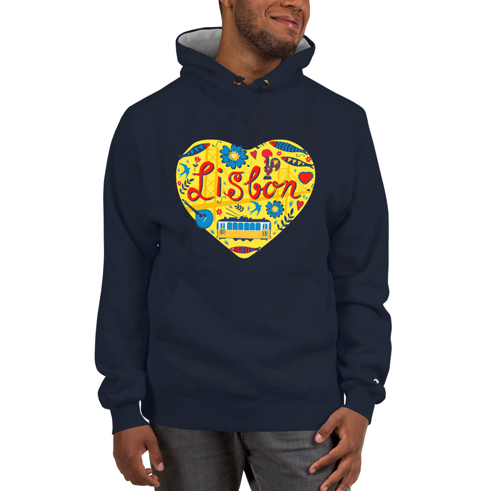 Love For Lisbon - Champion Hoodie