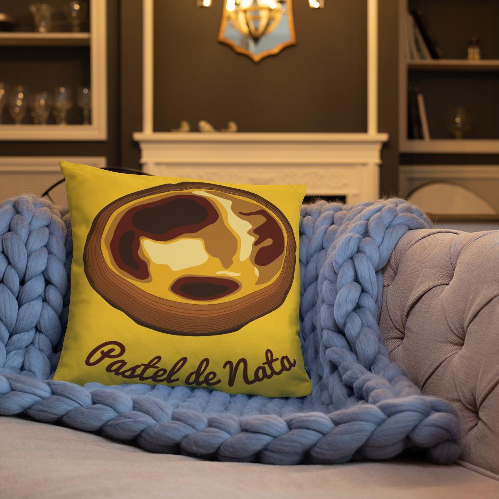 Pastel de Nata - Square Pillow