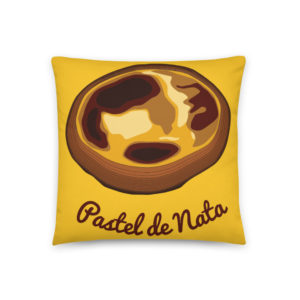 Pastel de Nata - Square Pillow