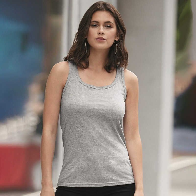 Anvil 882L Ladies Missy Fit Ringspun Tank Top