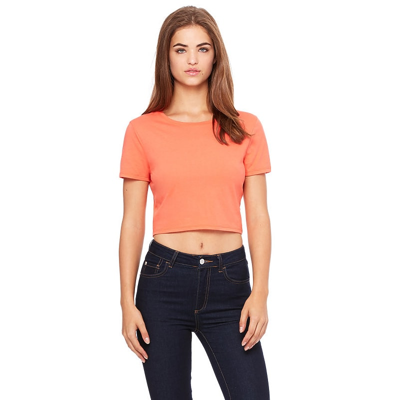 Bella + Canvas 6681 Women's Crop Tee