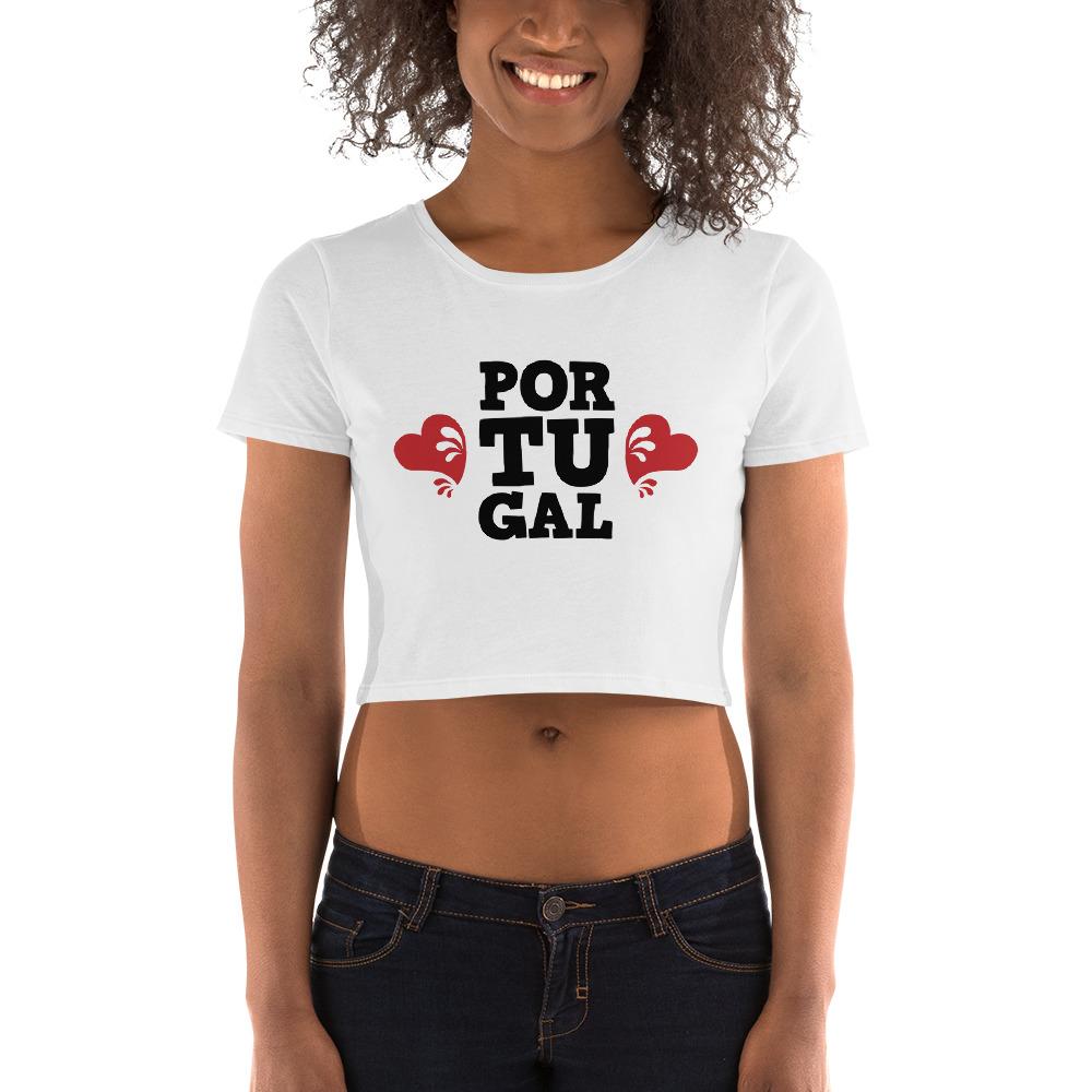 Portugal Love - Women's Crop Tee
