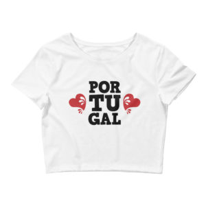 Portugal Love - Women's Crop Tee