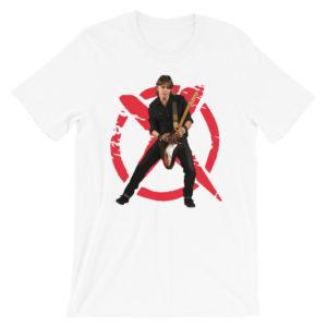 Zé Pedro Xutos e Pontapés – Short-Sleeve Unisex T-Shirt