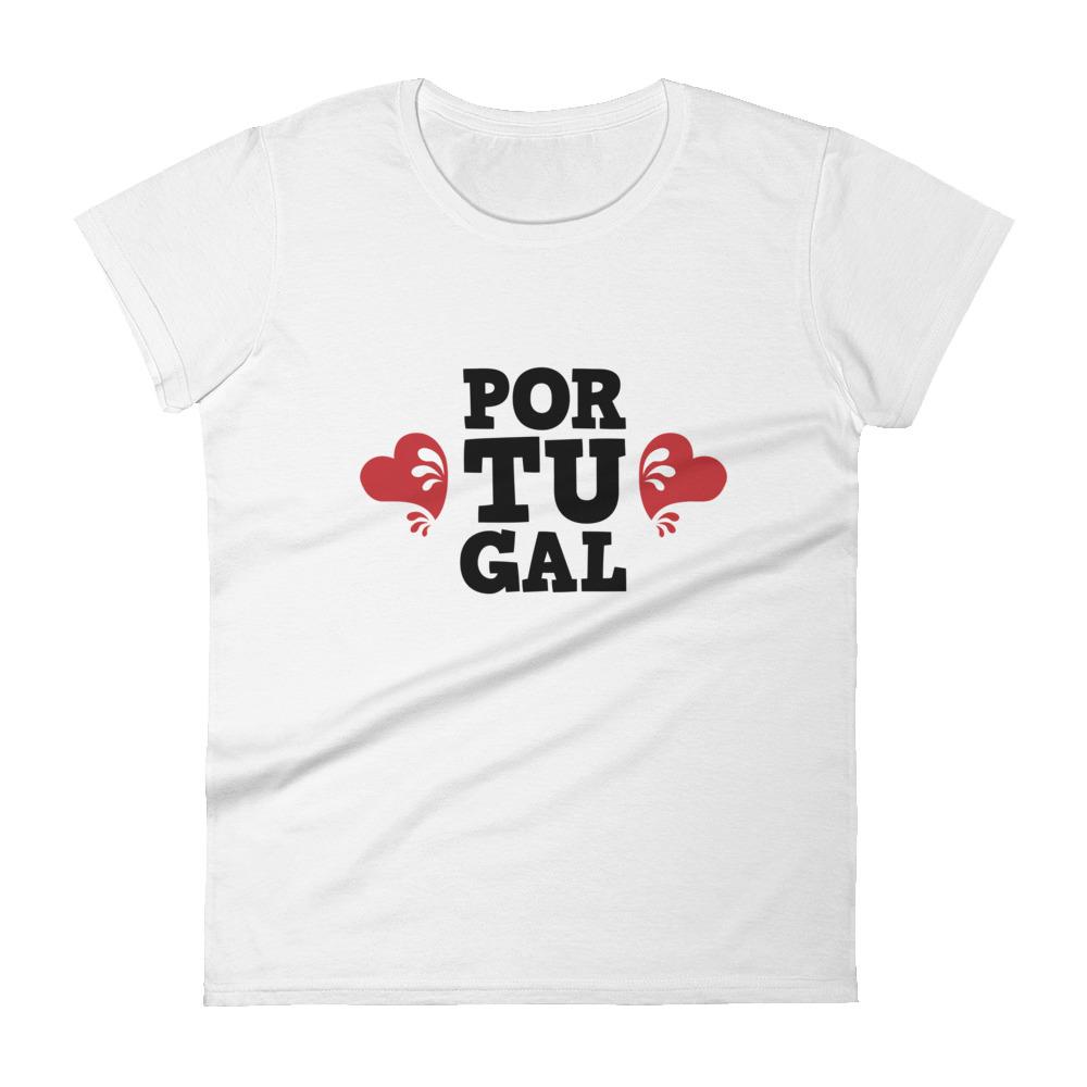 Portugal Love  - Women's Short Sleeve T-Shirt