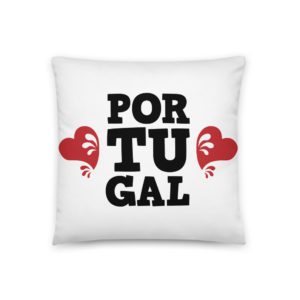 Portugal Love - Square Pillow