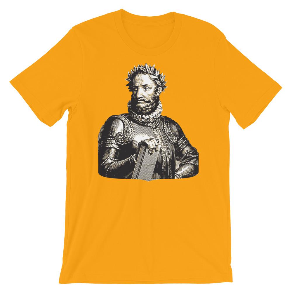 Luís de Camões Poet - Premium Unisex T-Shirt