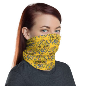 Portugal Tradition Illustration - Face Mask Neck Gaiter