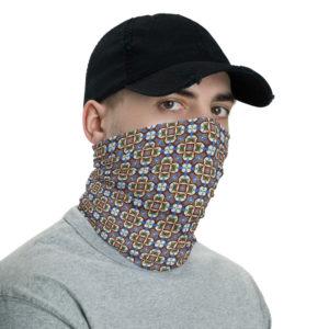 Lisbon Traditional Azulejo - Face Mask Neck Gaiter