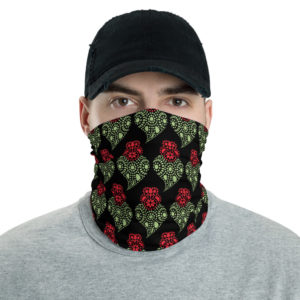 Portuguese Heart - Face Mask Neck Gaiter