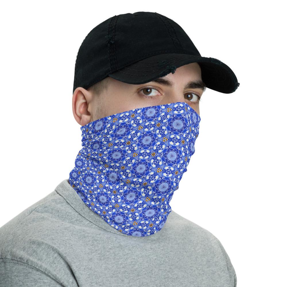 Azulejo Battle of Aljubarrota - Face Mask Neck Gaiter