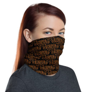 Lisboa Calligraphy - Face Mask Neck Gaiter