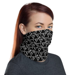 Lisbon Triangle - Face Mask Neck Gaiter