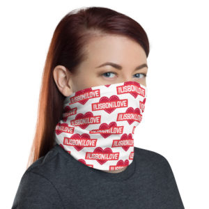 From Lisbon With Love - Face Mask Neck Gaiter