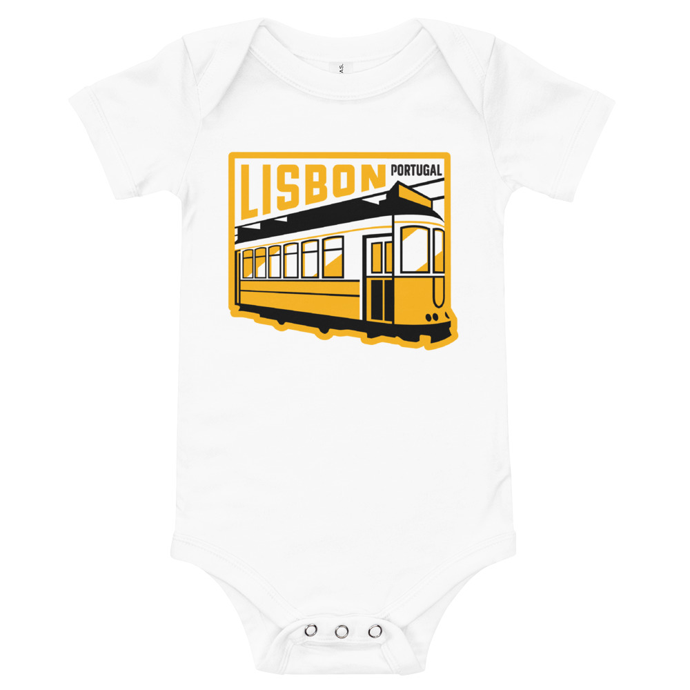 Lisbon Portugal Tram - Infant Bodysuit