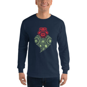 Portuguese Heart - Long Sleeve T-Shirt
