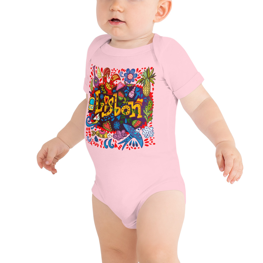 Lisbon Traditional Symbols - Infant Bodysuit
