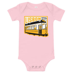 Lisbon Portugal Tram - Infant Bodysuit