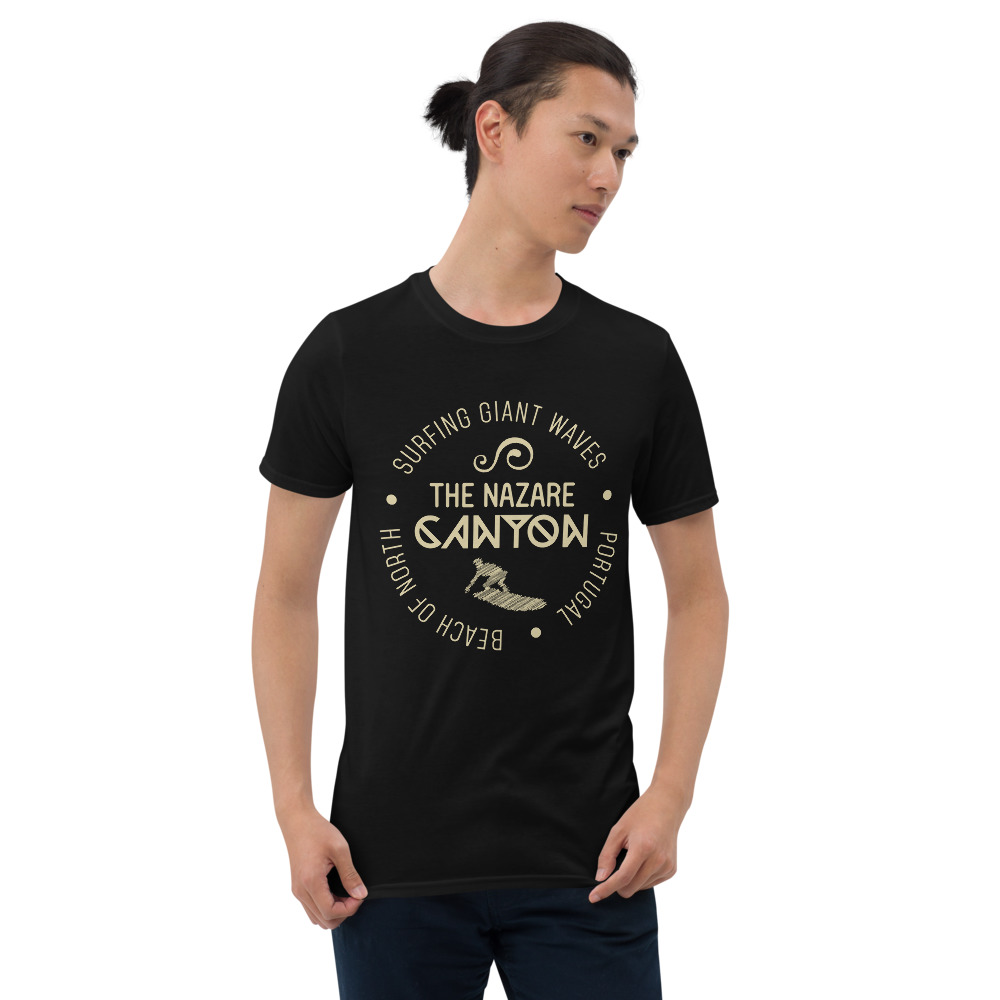 The Nazare Canyon - Unisex Softstyle T-Shirt