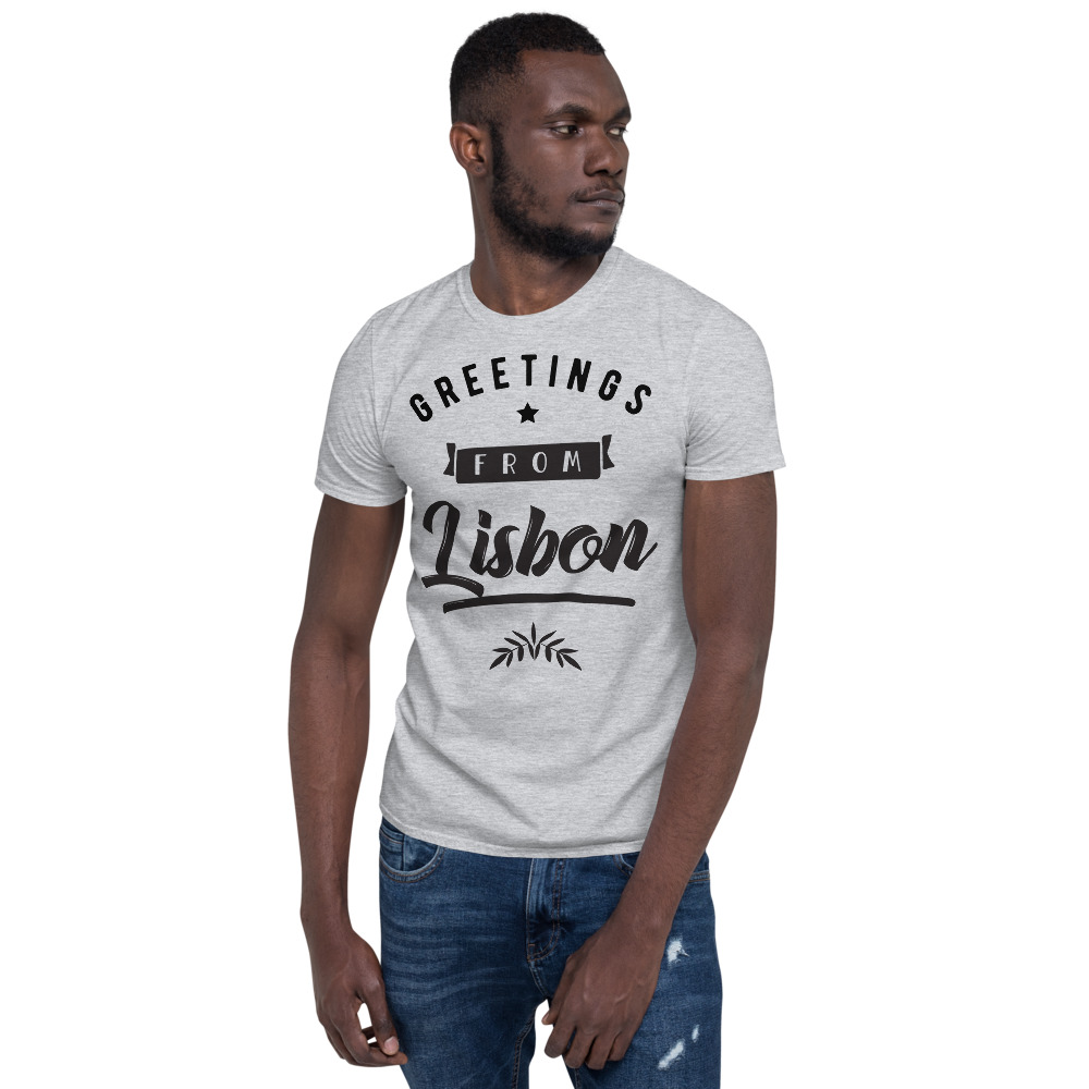 Greetings from Lisbon - Unisex Softstyle T-Shirt