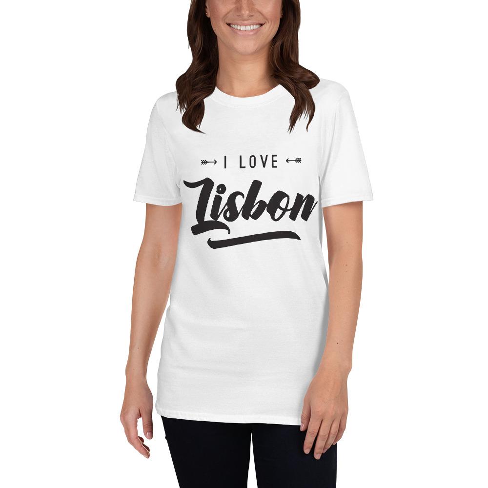 I Love Lisbon - Unisex Softstyle T-Shirt