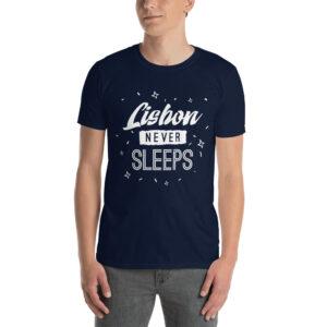 Lisbon Never Sleeps - Unisex Softstyle T-Shirt