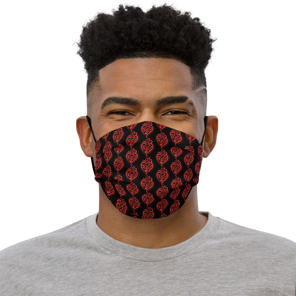 Filigrana Heart - Face Mask