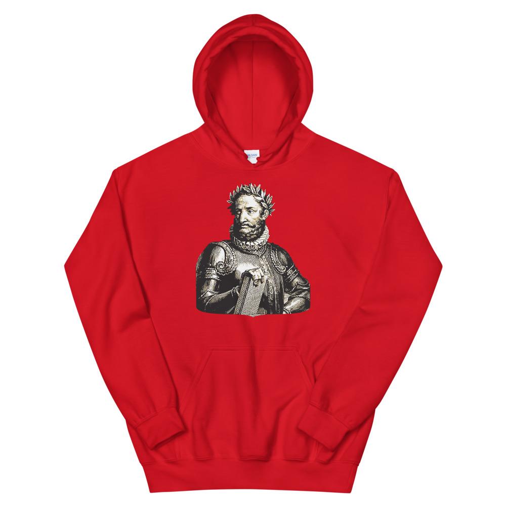 Luís de Camões Poet - Hooded Sweatshirt