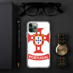 Flag Portugal Sea 1500 - iPhone Case