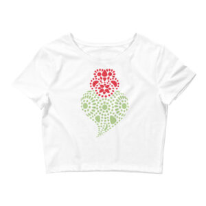 Portuguese Heart - Women's Crop Tee
