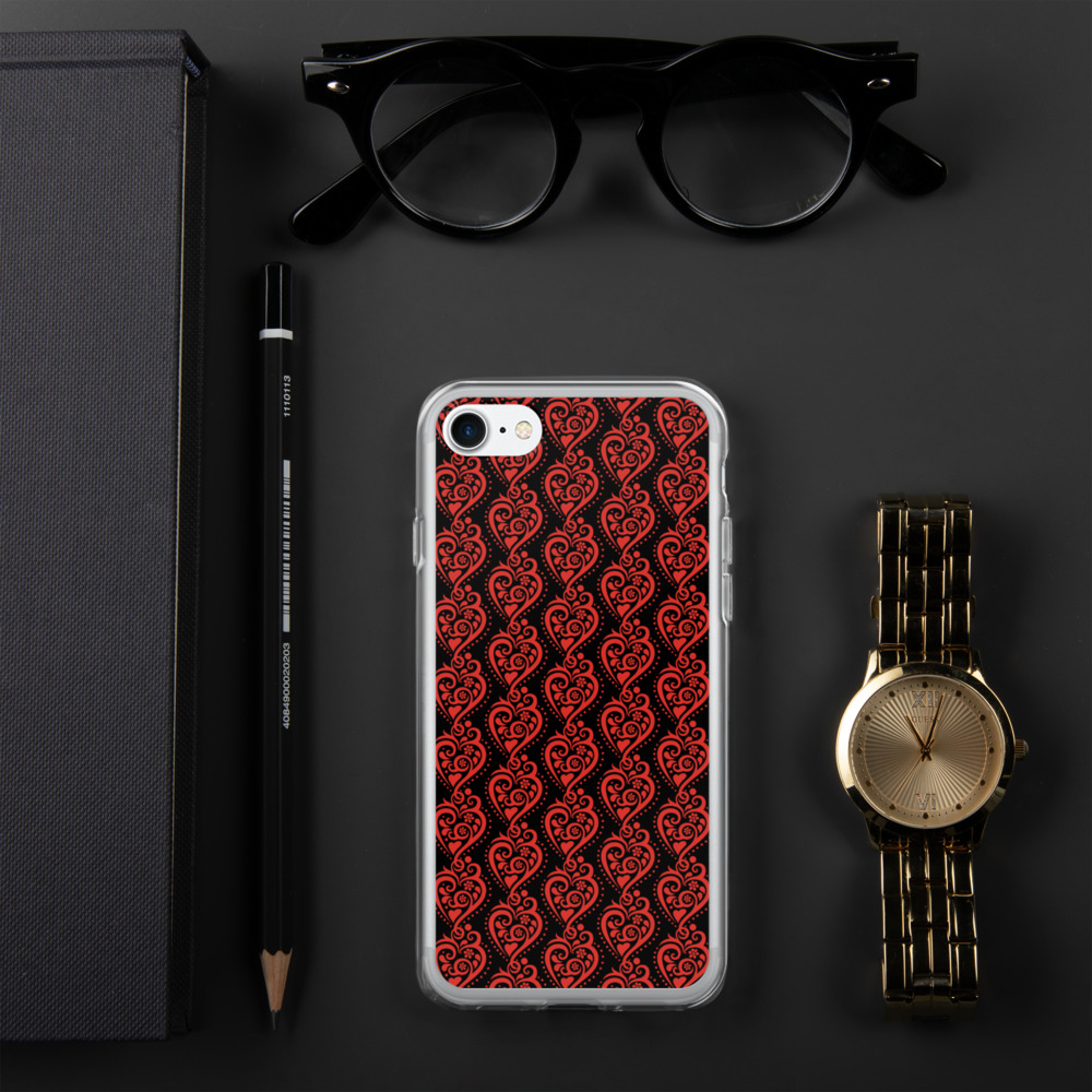 Filigrana Heart - iPhone Case