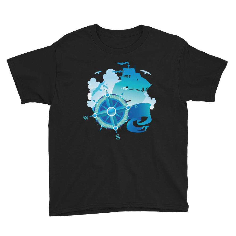 Caravela Rosa dos Ventos - Youth Short Sleeve T-Shirt