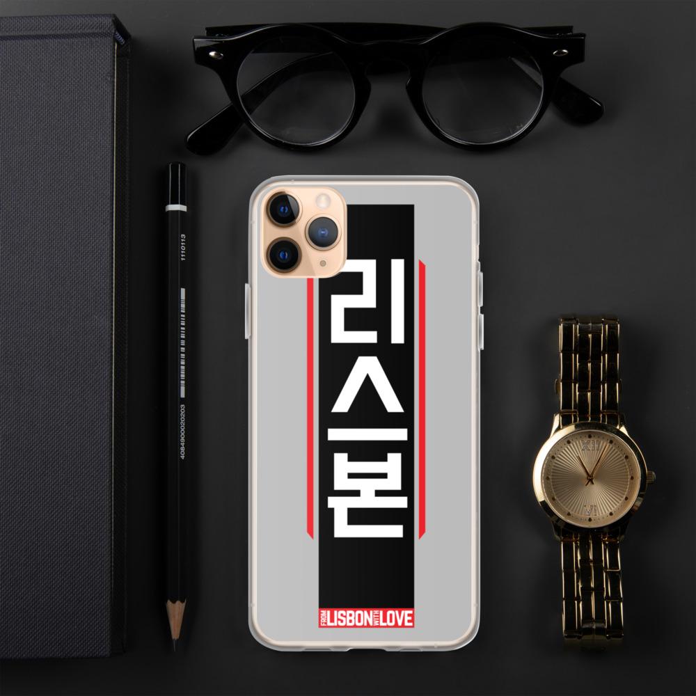 Lisbon Hangul Cyberpunk - iPhone Case
