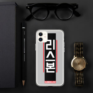 Lisbon Hangul Cyberpunk - iPhone Case