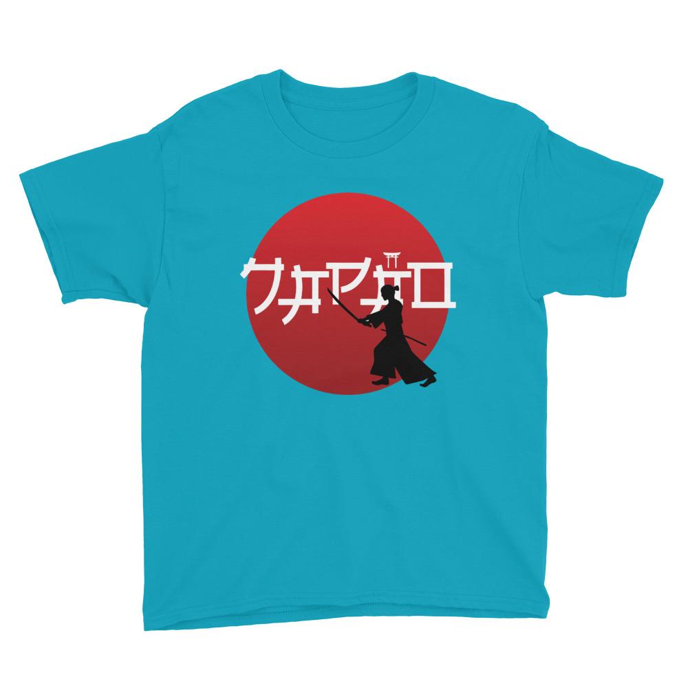 Japão Samurai – Youth Short Sleeve T-Shirt