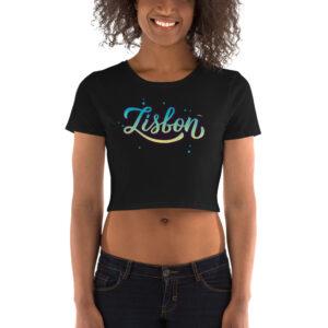 Lisbon Stars - Women's Crop Tee
