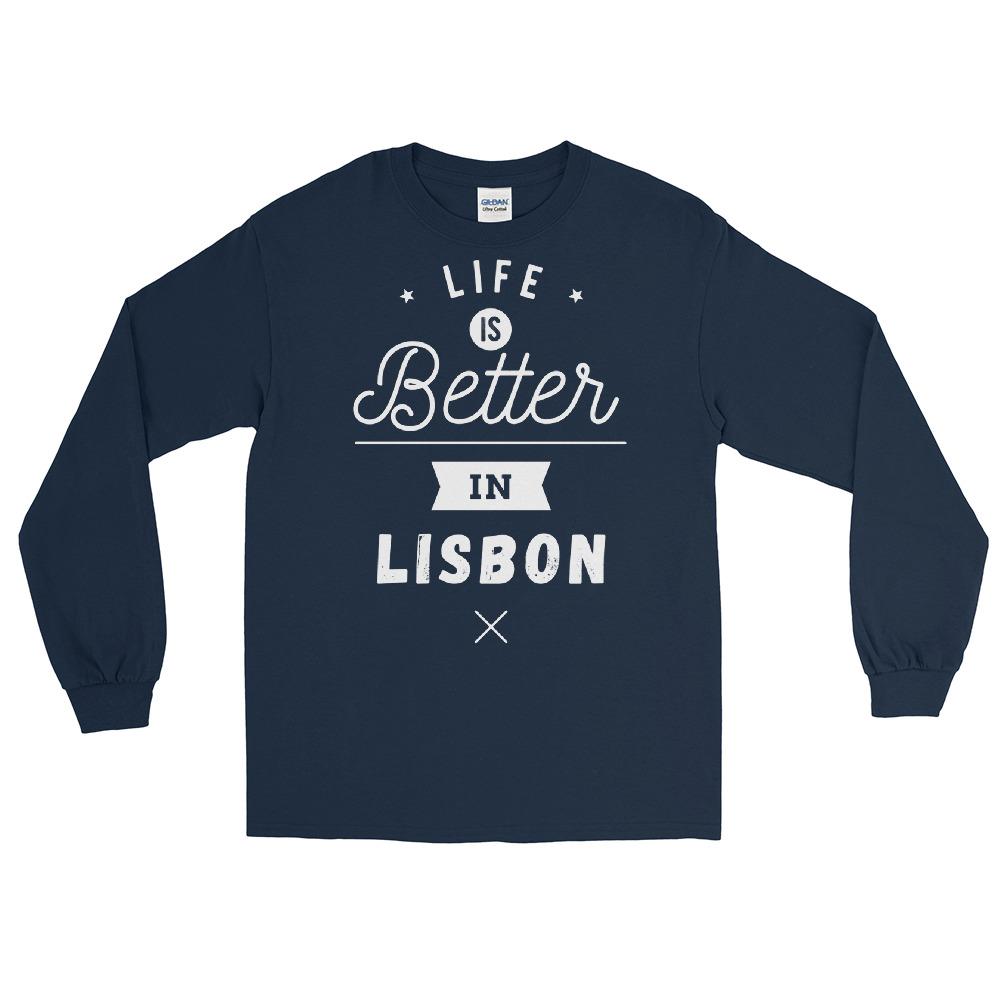 Life is Better in Lisbon - Long Sleeve T-Shirt