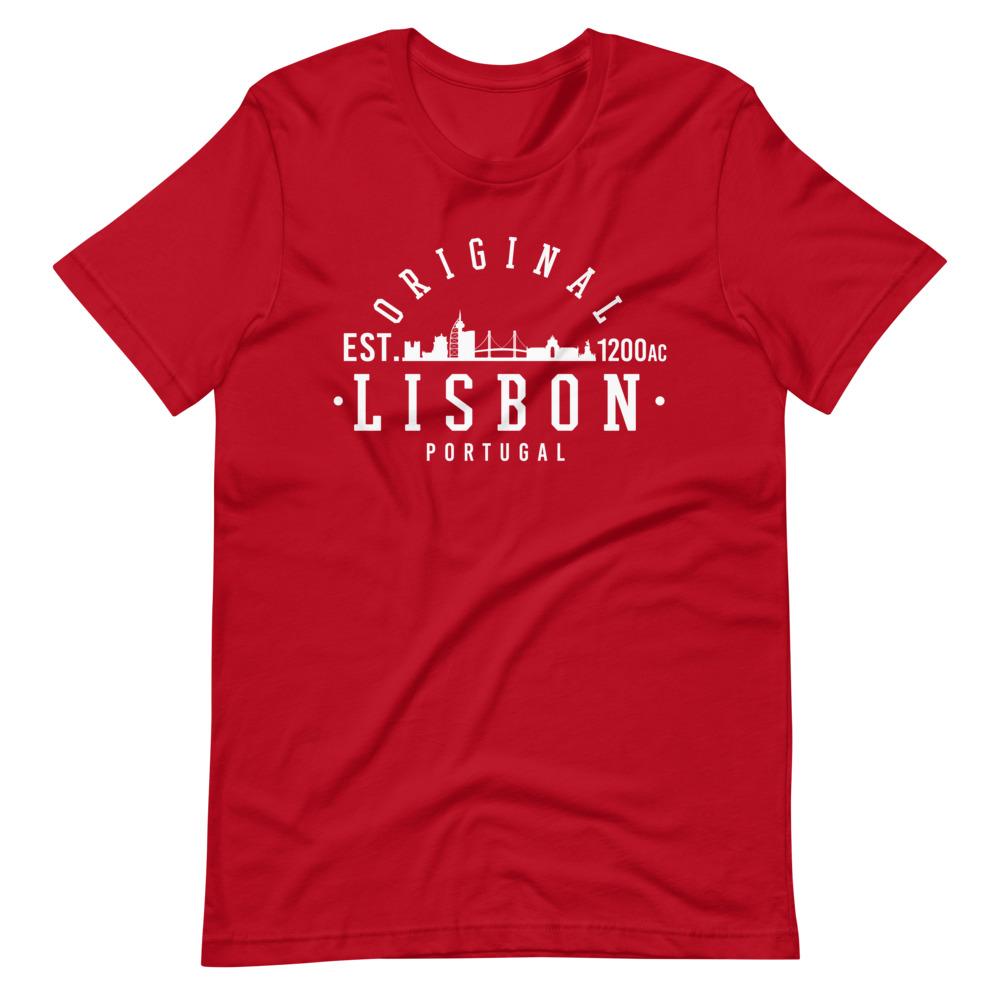 Lisbon Portugal EST 1200AC - Premium Unisex T-Shirt